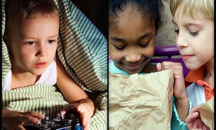 kids who sleep less eat more see pics