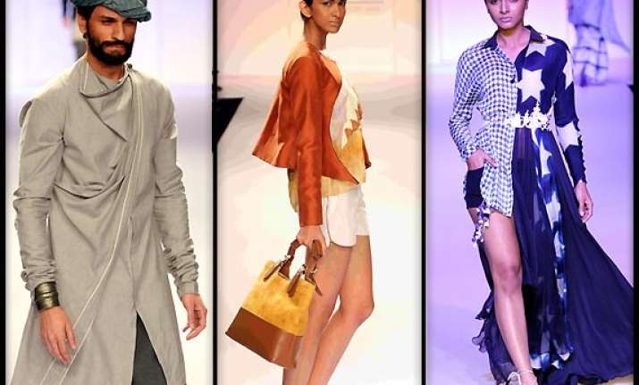 lakme fashion week 2014 a glance at budding designers view