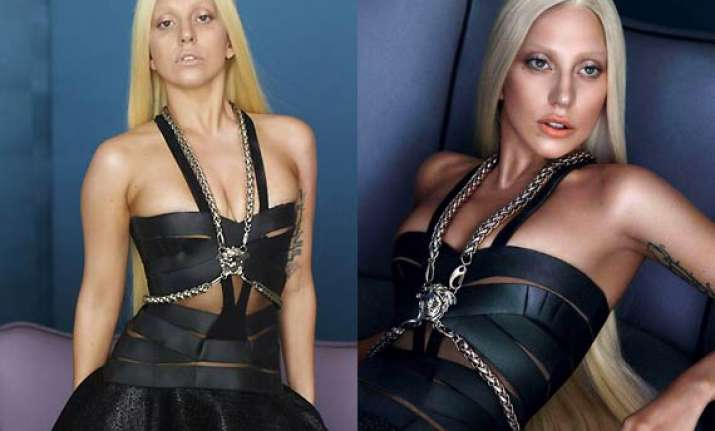 spot the difference lady gaga looks horrible in leaked pre