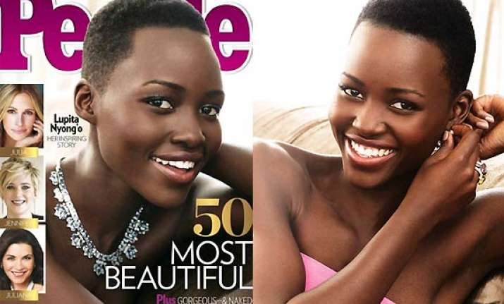 lupita nyong o announced most beautiful woman by people