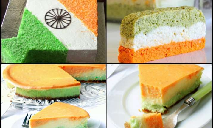 make your independence day delicious with tricolour cake