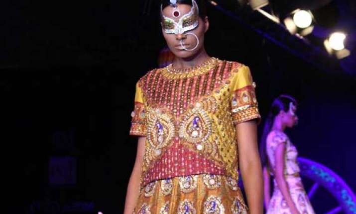 manish arora kitsch collection brings past into future