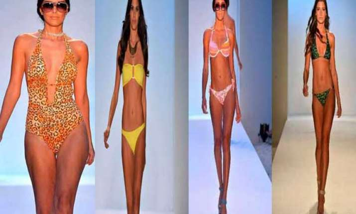 mercedes benz fashion week the bikini bonanza