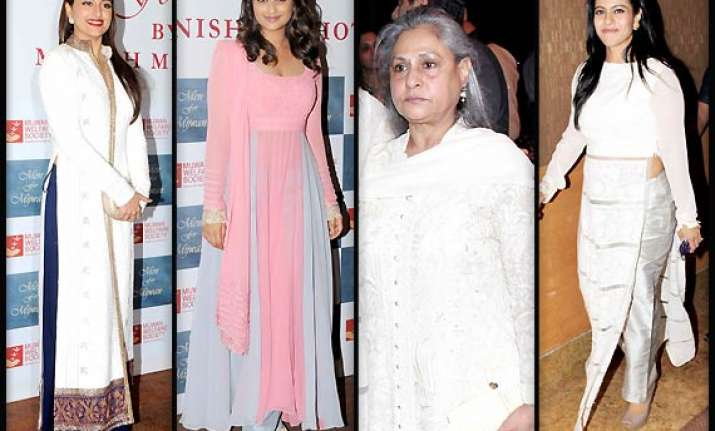 sonakshi kajol jaya parineeti look like angels in white and