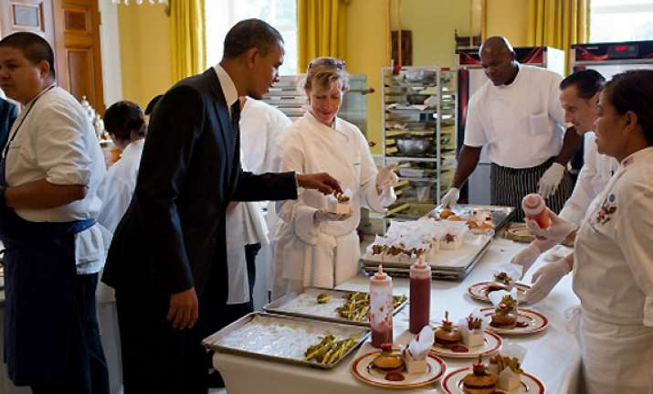 mint chutney spices up kids state dinner at white house