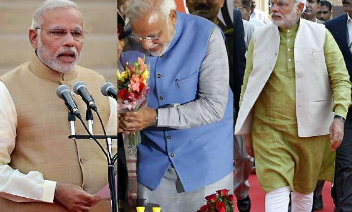 narendra modi rise of a new fashion icon in the eyes of us