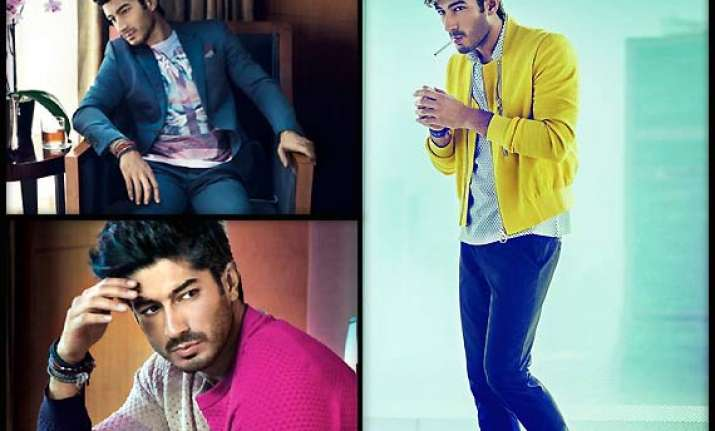 kapoor lad mohit marwah poses for gq india view pics