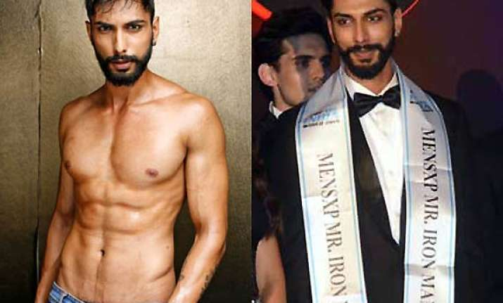 mr. india 2014 prateik jain crowned as winner by arjun