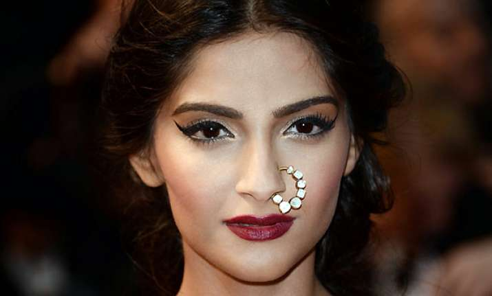 what s with these nose rings at cannes