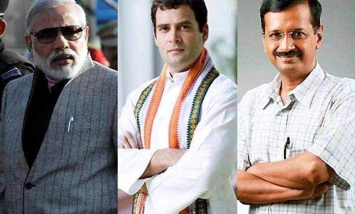 narendra modi rahul gandhi arvind kejriwal who wins the