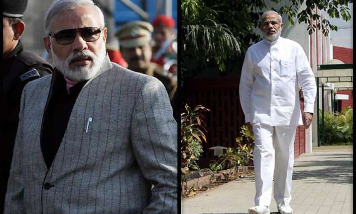 narendra modi most well dressed politician says indian