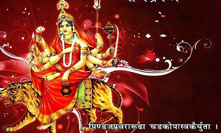 navratri special day 3 jai maa chandraghanta see pics