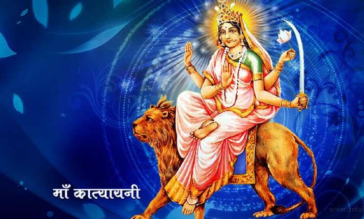 navratri special day 6 jai maa katyayani see pics
