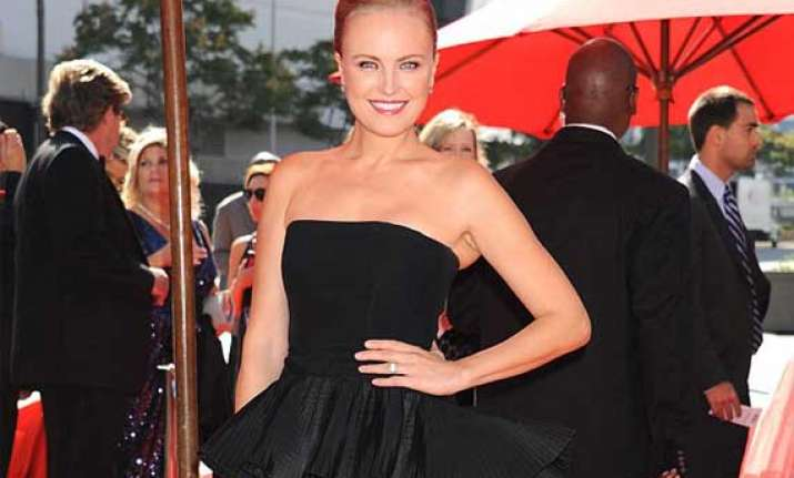 new mom malin akerman stuns on red carpet view pics