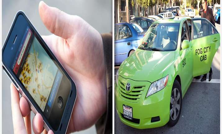 now smartphones can get you to book taxis in china