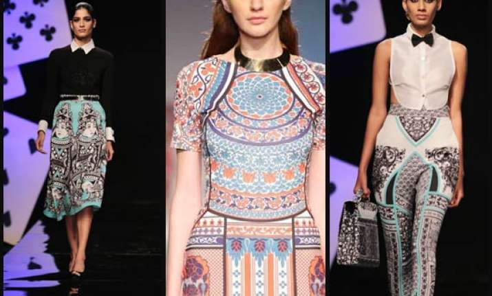 wifw aw 2014 pankaj nidhi s majestic and grand collection