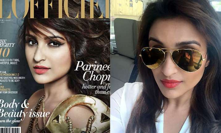 parineeti chopra crowned the new fitness diva by l officiel
