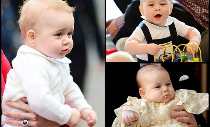 prince george the baby fashion icon see pics