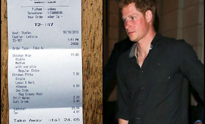 late night 24 snack for prince harry view pics