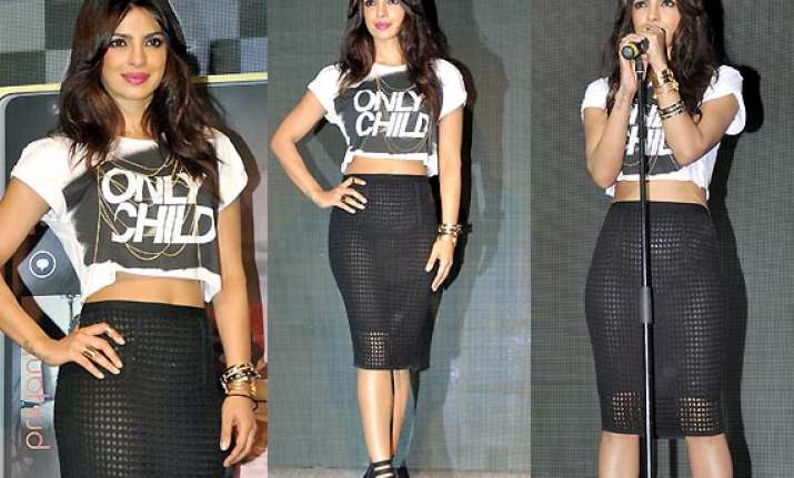 risqu priyanka chopra dons transparent skirt at i can t