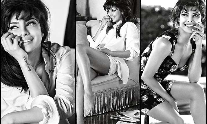 priyanka chopra raises the style quotient with guess see