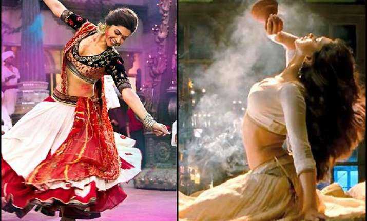 A glimpse of Deepika Padukone's designer lehengas in Ram ...