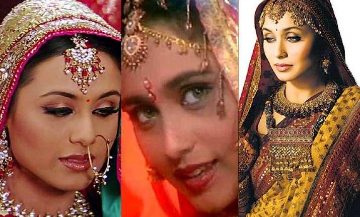 rani mukerji s bridal avatars see pics