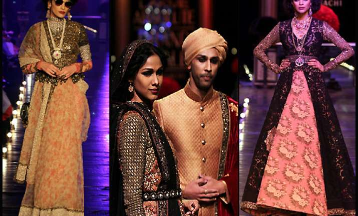 sabyasachi s absolute royal line at lfw view complete