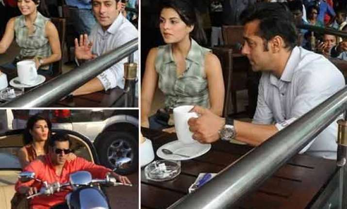 salman khan finds a fitness freak in jacqueline fernandez