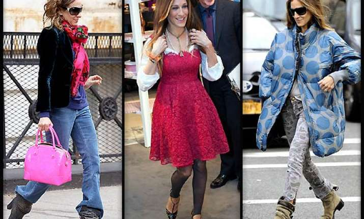 sarah jessica parker gets style inspiration from street