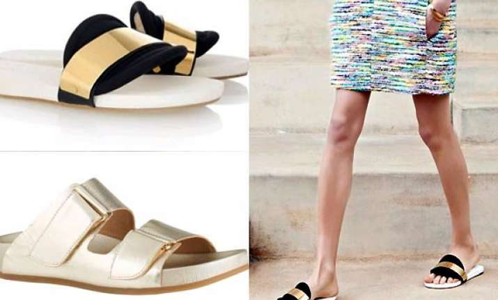 shoe trend 2014 pool sliders