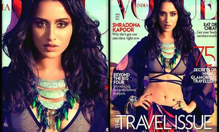 shraddha kapoor finally gets her vogue cover moment see pics