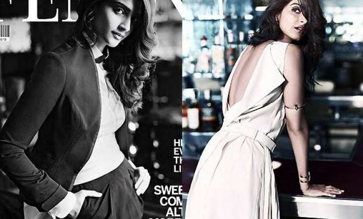 sonam kapoor dons fabulously classy outfits for femina view