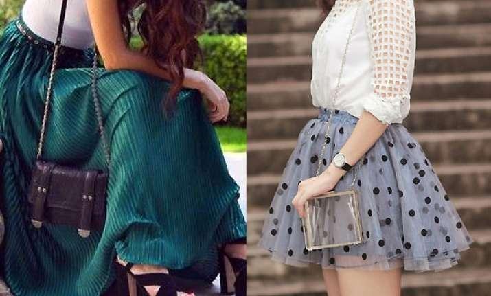 stylishly skirts this summer