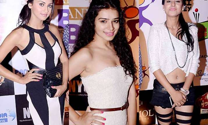 tv bahus turn up in black and white at bcl success bash see