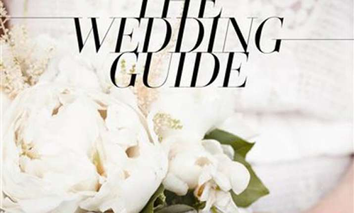 vogue offers its stylish wedding guide