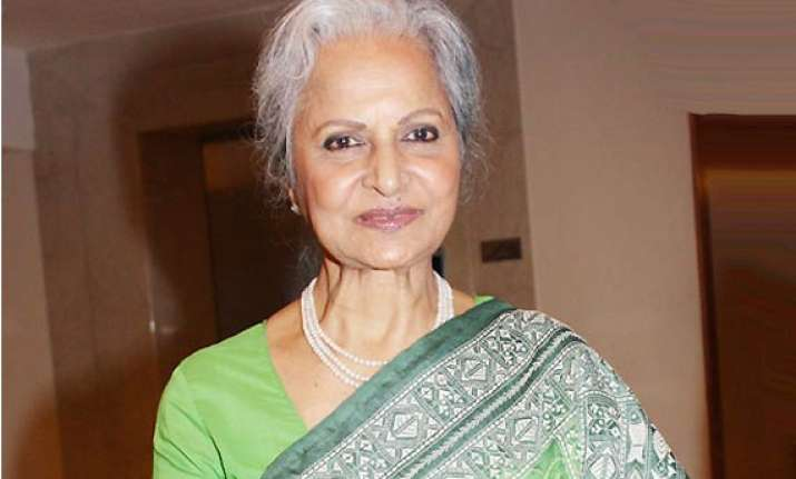 waheeda rehman forget bikini never even wore a sleeveless
