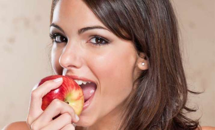 ladies have fruits for super heart see pics