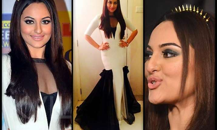 zee cine awards 2014 sonakshi sinha steals the limelight
