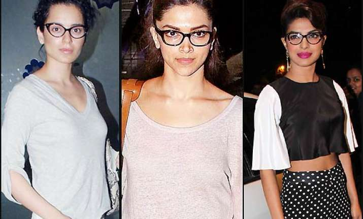 deepika priyanka or kangana who looks sexiest in geek look