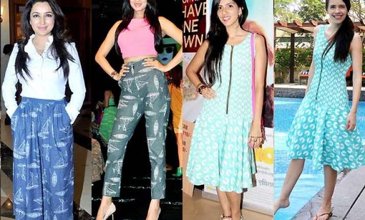 fashion clash kalki nishka tisca sonal end up wearing same