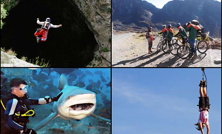 five adventurous activities you should try see pics