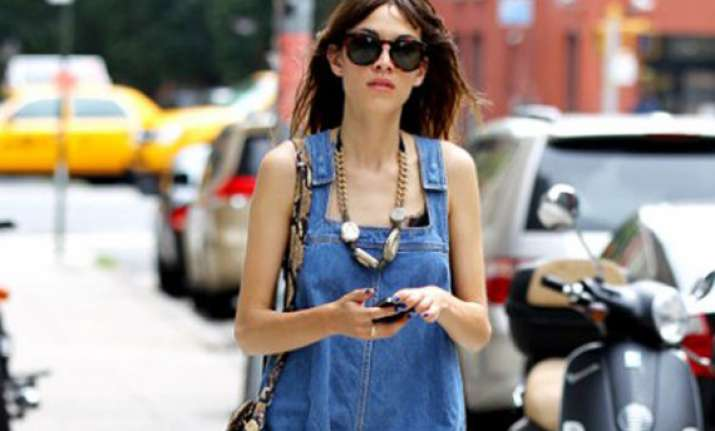 alexa chung to launch denim collection