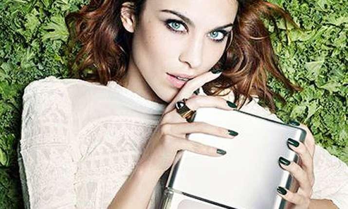 alexa chung new face of nails inc.