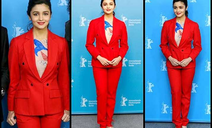 alia bhat made it red hot at the berlin film festival see