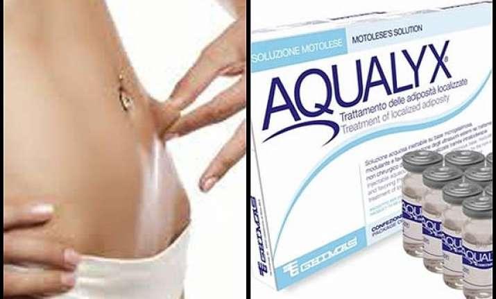 aqualyx alternative to liposuction see pics