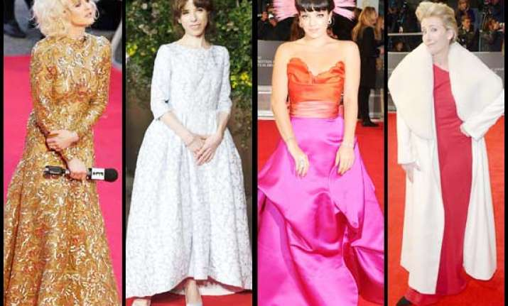 bafta 2014 worst dressed celebrities see pics