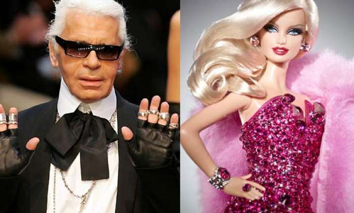 barbie doll 50 to get an all new look by designer karl