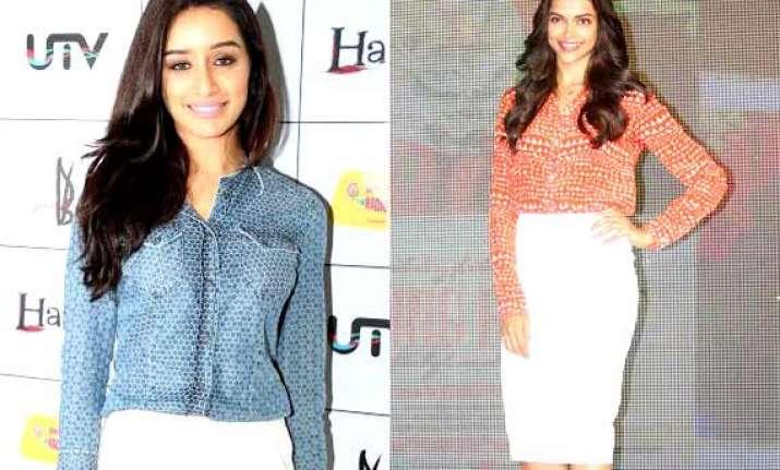 deepika shraddha kareena kept fashion on high this week see