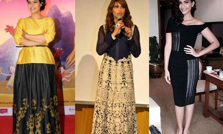 sonam kajol bipasha are the fashion icons of the week see